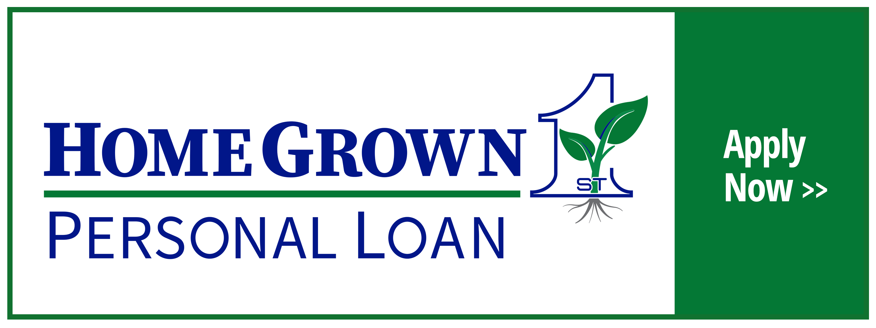 First National Bank of Amboy Personal Loan logo.