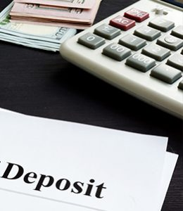 Image of Deposit Papers