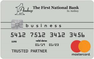 First National Bank in Amboy Business Mastercard