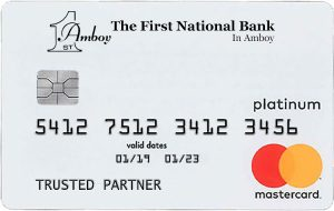 First National Bank in Amboy Platinum Mastercard