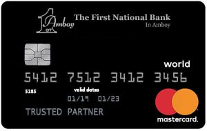 First National Bank in Amboy World Mastercard